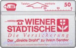 TWK Österreich Privat: 'Wr. Städtische - Rot' Gebr. - Austria