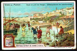 LIEBIG - FR - 1 Chromo - Série/Reeks S 0854 - Vues Au MAROC: Rade Et Port De TANGER. - Liebig