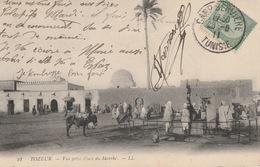 18 / 5 / 189  -  TOZEUR  -  VUE  PRISE  PLACE  DU  MARCHÉ - Tunesien