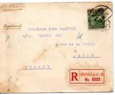 Jolie Lettre De Chine Pour La France Par Voie Siberienne - 1912-1949 République