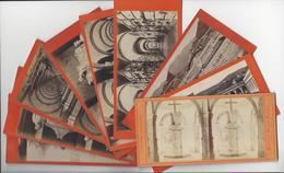 Circa 1865 GENES GENOVA 9 STEREO ITALIE ITALIA PHOTO STEREO DEGOIX + NOACK /FREE SHIPPING REGISTERED - Stereoscopio