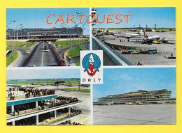 CPSM 75 PARIS ORLY AÉROPORT Muti Vues 1968 - Aéroports De Paris
