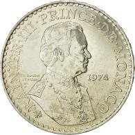 Monnaie, Monaco, Rainier III, 50 Francs, 1974, SUP, Argent, KM:152.1 - 1960-2001 New Francs