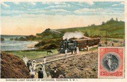 Ligt Railway At BATHSHEBA - Barbades