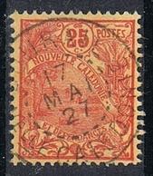 NOUVELLE-CALEDONIE N°117  Belle Oblitération De Bourail - Gebraucht