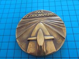 Médaille Commémorative Française DCN Sous Marin SNLE LE Triomphant (vue à 25 € Chez I-B ...) - Boats