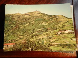 17054) GENOVA LA MADONNA DELLA GUARDIA TI PROTEGGA PANORAMA VIAGGIATA 1962 - Genova