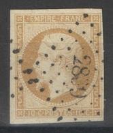 France - YT 13A Oblitéré PC 2839 Savenay Loire Atlantique - 1853-1860 Napoleon III