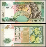 Sri Lanka 10 RUPEES 2005 P 115d UNC - Sri Lanka