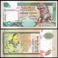 Sri Lanka 10 RUPEES 2006 P 115e UNC - Sri Lanka