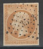 France - YT 13A Oblitéré PC 3523 Verdun-sur-Saône, Saône Et Loire - 1853-1860 Napoleon III