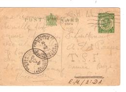 UK Entire PC Canterbury O.H.M.S.23/5/16 V.Militaire E.M. 2° DA C.PMB-BLP 25&26/5/1916  JS236 - Other Zones