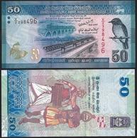 Sri Lanka 50 RUPEES 2010 P 124 UNC - Sri Lanka