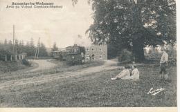 BELGIQUE BURMONTIGE LEZ WERBOMONT TRAIN  ARRET DU VICINAL COMBLAIN MANHAY DEFAUT MALHEUREUSEMENT ROGNEE - Ferrieres