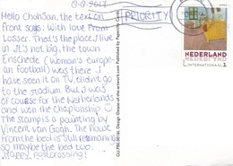 22B: Netherlands Home Furniture International Stamp Used On Liefs Vanuit Losser Postcard - Periode 2013-... (Willem-Alexander)