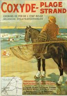 COXYDE - Plage Strand - Affiche Ancienne - Illustrateur Rossoti Matteoda Angelo - Other