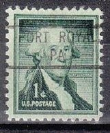 USA Precancel Vorausentwertung Preo, Locals Pennsylvania, Port Royal 804 - Vereinigte Staaten