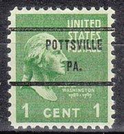 USA Precancel Vorausentwertung Preo, Bureau Pennsylvania, Pottsville 804-71 - Vereinigte Staaten