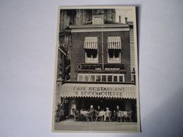 Bergen Op Zoom (N-Br.) Cafe - Restaurant 't Locomotiefke - Groote Markt 19?? - Bergen Op Zoom