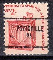 USA Precancel Vorausentwertung Preo, Locals Pennsylvania, Pottsville 704 - Vereinigte Staaten
