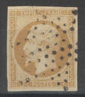 France - YT 13A Oblitéré étoile Pleine - 1853-1860 Napoleon III
