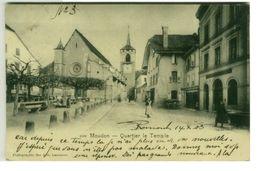 SWITZERLAND - MOUDON - QUARTIER LE TEMPLE - PHOTOGRAPHIE DES ARTS 1900s (3019) - Svizzera