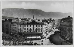 CPA - GENEVE - BD DES PHILOSOPHES ET RUE DE CAROUGE - 1939 - GE Genève