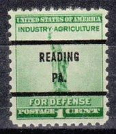 USA Precancel Vorausentwertung Preo, Bureau Pennsylvania, Ransom 899-71 - Vereinigte Staaten