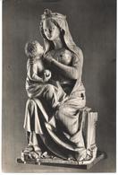 POSTAL   MUSEO LAZARO DE MADRID - VIRGEN SEDENTE DE MARFIL DE LA PRIMERA MITAD DEL S.XIV - Postales