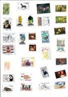 Lot De 100 Timbres Français Récents - Briefmarken