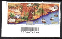 Bresil Brasil 2973/75 Eglise , Voilier , Puma , Tir à L'arc , Oiseau , Poisson - Explorers