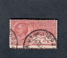 Posta Aerea 50 Cent Gig.2A Usato Cod.fra.667 - 1900-44 Vittorio Emanuele III