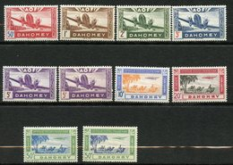 Dahomey, Yvert PA10/17&17av &variété Du 5c, Scott C6/C13a & 5c Var. , MNH - Ungebraucht