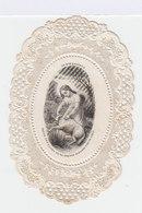 Image Pieuse. Canivet. Le Bon Pasteur. Dentelle. Maison Bouasse Lebel. (101) - Images Religieuses