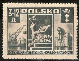 Polonia 0471 * Charnela. 1946 - Ungebraucht