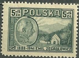 Polonia 0480 * Charnela. 1947 - Ungebraucht