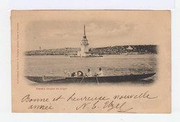 Constantinople. Femmes Turques En Caïque. Oblitération Contantinople. (2810) - Levant (1885-1946)