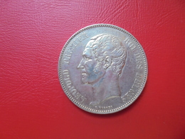Léopold 1er. 5 FRANCS 1852 ARGENT BELLE QUALITE ! - 11. 5 Francs