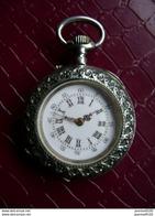 Montre Ancienne De Qualité Argent Poinçon Cygne  Beau Boitier -échappement Cylindre (fonctionne Mais à Révisée) - Watches: Bracket