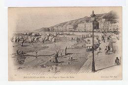 Boulogne Sur Mer. La Plage à L'heure Des Bains. (2813) - Boulogne Sur Mer