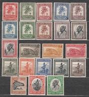 Ruanda-Urundi N° 126 à 147 **  MNH  (sauf 144 *  MH) - Ruanda-Urundi