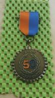 Medaille / Medal - Medaille -pin -  N.U.W - 50 Jaar 1937 - 1987 - Netherland