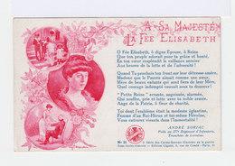 A Sa Majestée La Fée Elisabeth. Illustrations. Sonnet André Soriac, Poilu. (2814) - Patriotiques