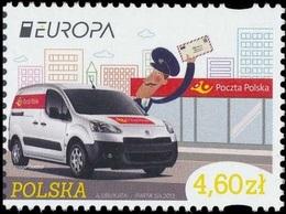 CEPT / Europa 2013 Pologne N° 4312 ** Les Véhicules Postaux - - Europa-CEPT