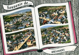 10 - Bréviandes : Vues Multiples - Souvenir De ... - France