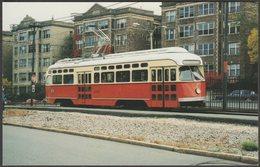 Boston MTA PCC Car No 3295 - Mary Jayne's Postcard - Tramways