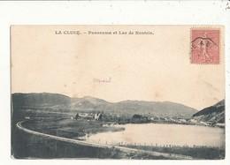 01 LA CLUSE PANORAMA ET LAC DE NANTRIA CPA BON ETAT - Andere Gemeenten