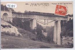 VD- VALLORBE- PONT DU DAY- PASSAGE DE L EXPRESS DE PARIS - VD Waadt