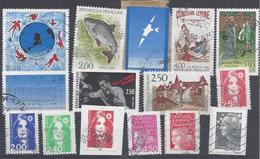Frankreich Yv 2695 2729 Mix Set Stamps Of 1991 France Francia Frankrijk Small Selection Of Fine Used 2218 - Frankreich