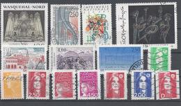 Frankreich Yv 2691 2731 Mix Set Stamps Of 1991 France Francia Frankrijk Small Selection Of Fine Used 2219 - Frankreich